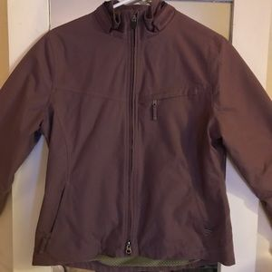 Royal Robbins purple jacket